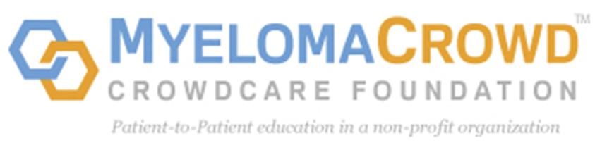 myeloma crowd crowdcare foundation logo