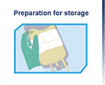 preparation for stem cell storage