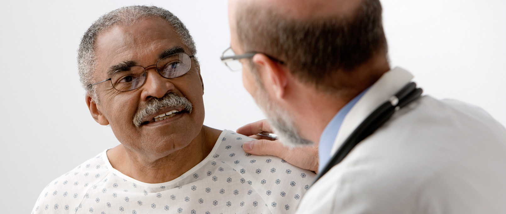 discussing multiple myeloma treatment options with your doctor